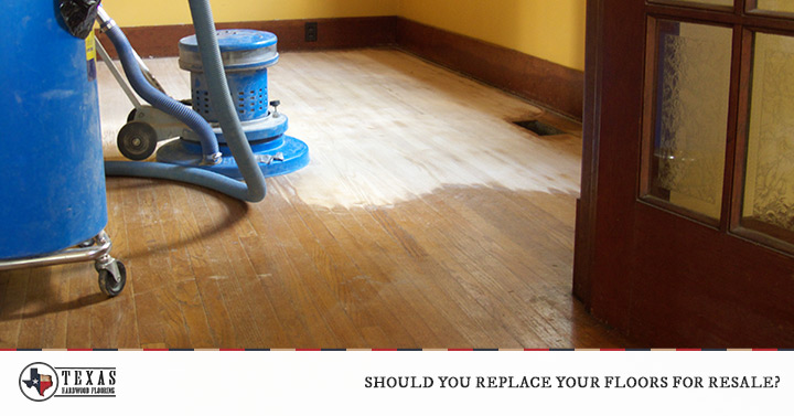 Should You Replace Your Floors For Resale?
