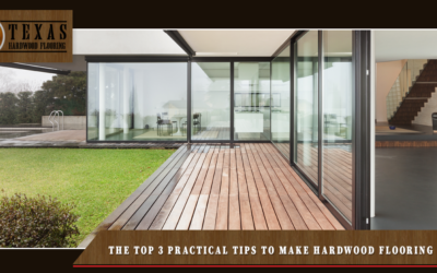 Top 3 Tips To Care For Hardwood Flooring