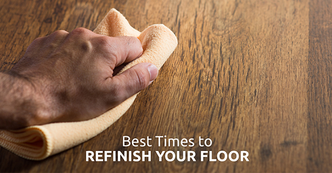 When Should You Refinish Your Dallas Flooring?