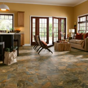 Armstrong Flooring Allegheny Slate Engineered Tile  Copper Mountain
