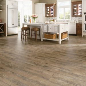 Armstrong Flooring Brushed Oak Rigid Core Brown