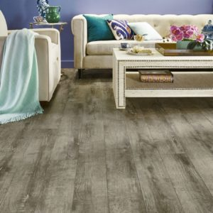 Armstrong Flooring Brushed Oak Rigid Core Gray