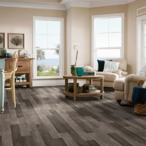 Armstrong Flooring Castletown Rigid Core  Carbonized Gray
