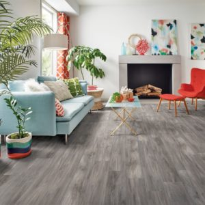Armstrong Flooring Derry Oak Rigid Core Foggy Gray