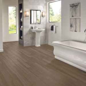 Armstrong Flooring Empire Walnut Rigid Core – Flint Gray
