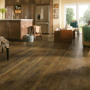 Armstrong Flooring Forestry Mix Laminate  Brown Washed