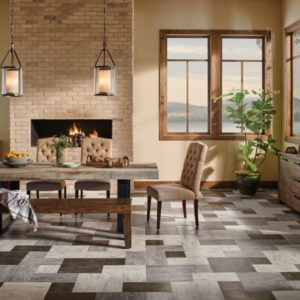 Armstrong Flooring Grain Directions Engineered Tile Antiqued Ivory