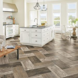 Armstrong Flooring Historic District Engineered Tile Blanched Mist