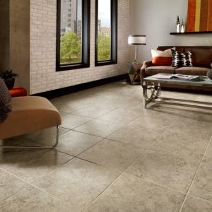Armstrong Flooring La Plata Engineered Tile  Taupe-Gray