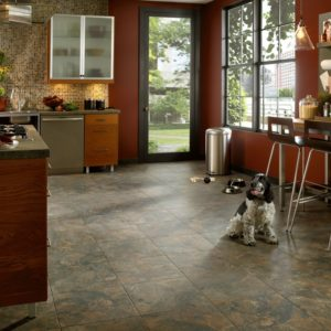 Armstrong Flooring Mesa Stone Engineered Tile  Canyon Shadow