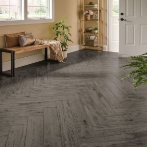 Armstrong Flooring Miles of Trail Engineered Tile  Gateway Gray