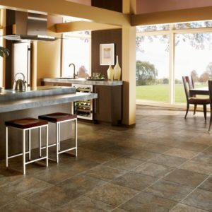Armstrong Flooring Moselle Valley Engineered Tile  Forest Green Copper