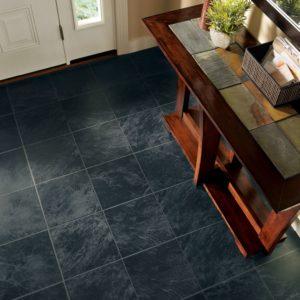Armstrong Flooring Slate Laminate  Ebony Mist