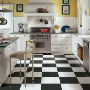 Armstrong Flooring Solid Colors Engineered Tile White