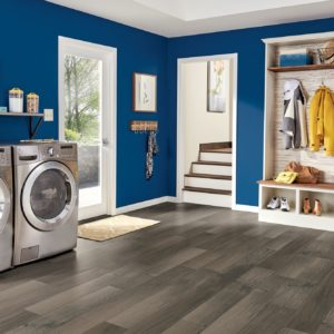 Armstrong Flooring Textured Timbers Rigid Core – Gray Brown