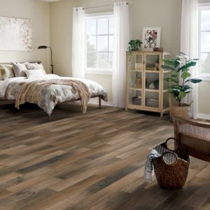 Armstrong Flooring Textured Timbers Rigid Core – Smokey Brown