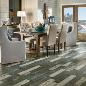 Armstrong Flooring To The Sea Laminate Sea Glass Teal