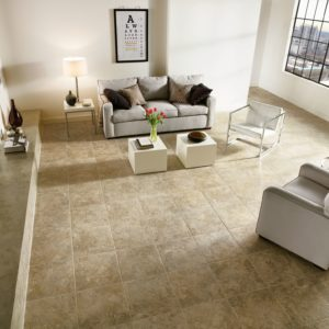 Armstrong Flooring Tuscan Path Engineered Tile  Cameo Brown