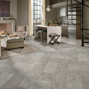 Armstrong Flooring Whispered Essence Engineered Tile Hint of Gray